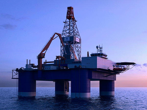 BT-5000 Midwater Drilling Semi