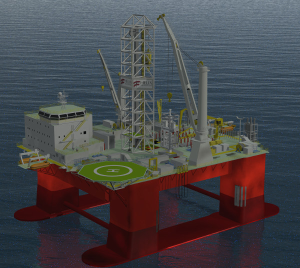 Helix Well Intervention Semi-submersible Unit